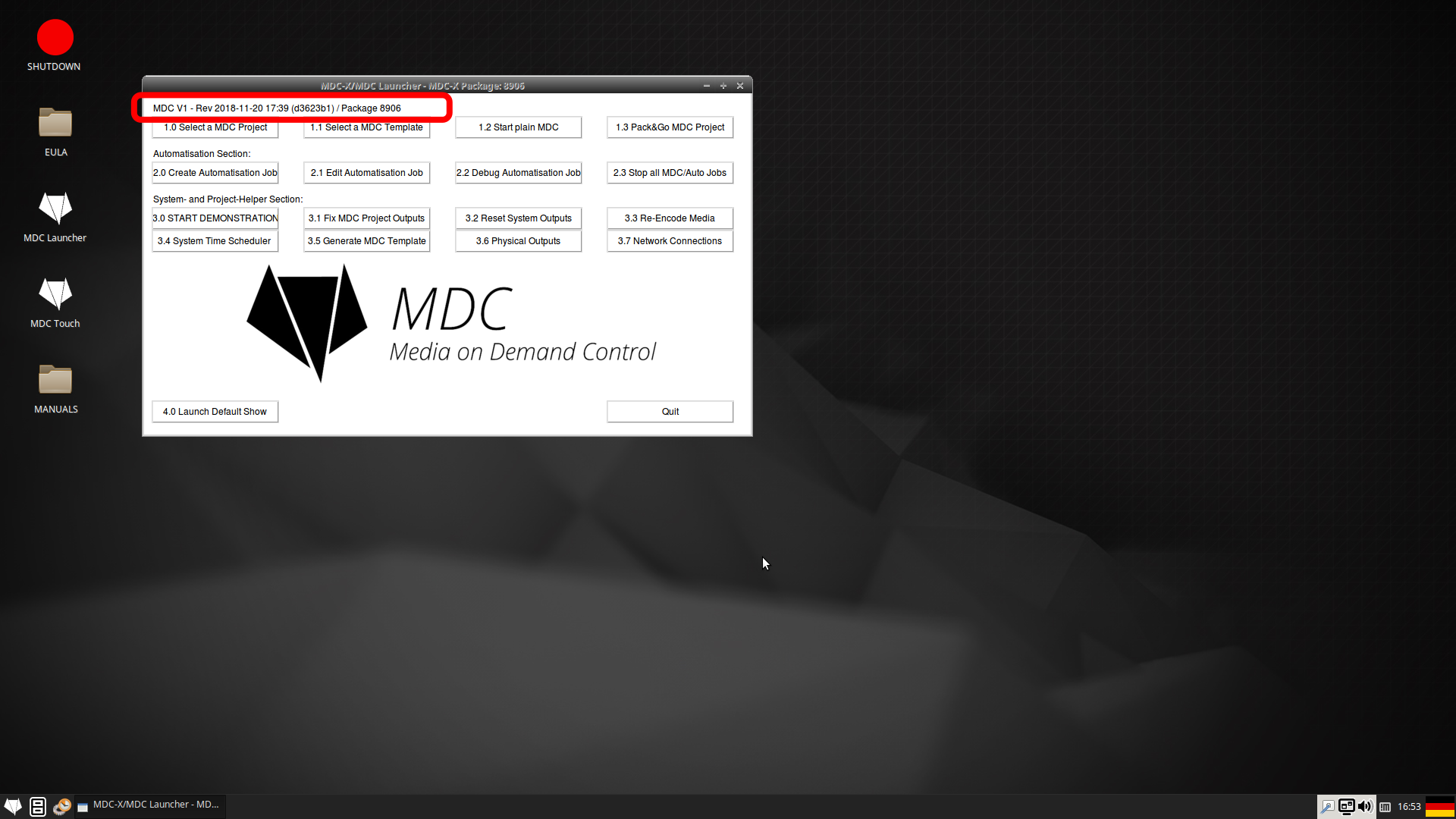 MDC / MDC-X Downloads and Documentation | Dynamic Projection