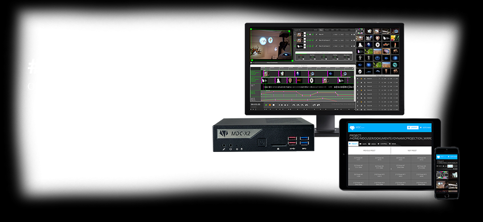 MDC-X2 / DH370 Dynamic Projection Institute
