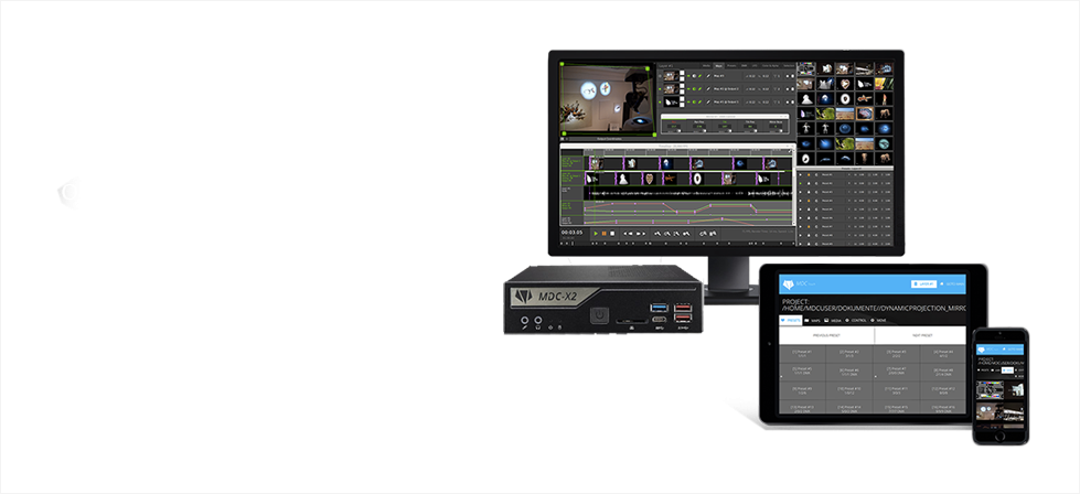MDC-X2 / DH470 Dynamic Projection Institute